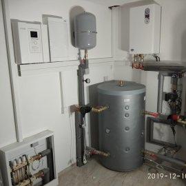 Skalička u Tišnova - Elektroinstalace v RD