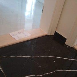 částečná rekonstrukce bytu - mramorová dlažba
