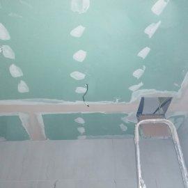 částečná rekonstrukce bytu - sdk podhled