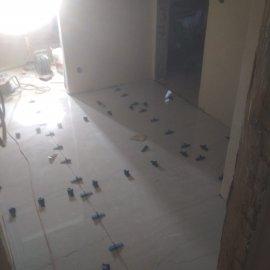 částečná rekonstrukce bytu - dlažba