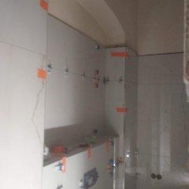 částečná rekonstrukce bytu - vyrovnávací klínový systám