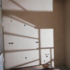 částečná rekonstrukce bytu - štuk stěny