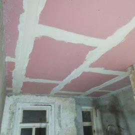 částečná rekonstrukce bytu - SDK protipožární strop