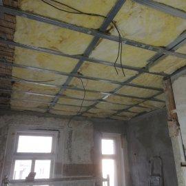 částečná rekonstrukce bytu - zateplení stropu