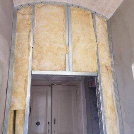 částečná rekonstrukce bytu - vatování