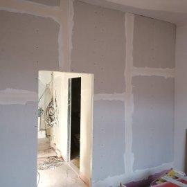 částečná rekonstrukce bytu - příčka sdk