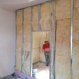 částečná rekonstrukce bytu - zvuková izolace