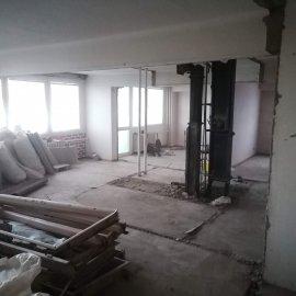 kompletní rekonstrukce bytu 3+1 - odstraněny přířky