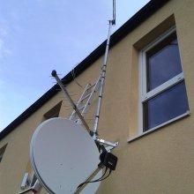montáž satelitu