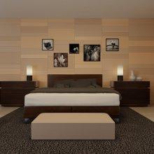 Vizualizace ložnice - pohled 2
