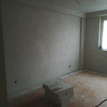 Rekonstrukce bytu Dejvice - omítky