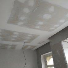 Kompletní rekonstrukce bytu Praha Nusle - zabroušený sádrokarton