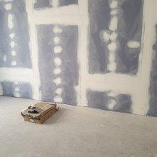 Rekonstrukce dvou bytů - akustická sádrokartonová příčka