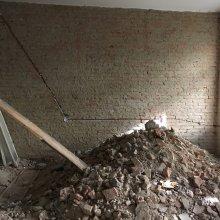 Rekonstrukce dvou bytů - odpad