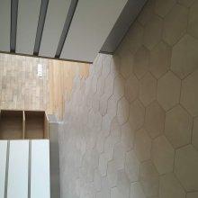 rekonstrukce bytu v Praze 10 - podlaha kuchyň