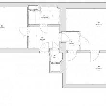 Architektonické práce Vítkova - stávající stav