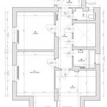 Horusická architektonický návrh - stávající stav