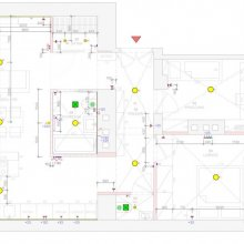 Holečkova - architektonické práce - elektroinstalace