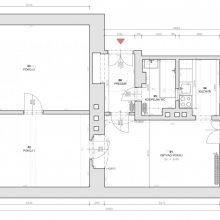 Holečkova - architektonické práce - stávající stav