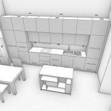 3D mode první kuchyně