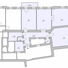 Architektonické práce Rybálkova - stávající stav