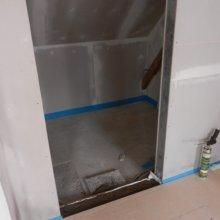 Těně - RD - pokládka plovoucí podlahy