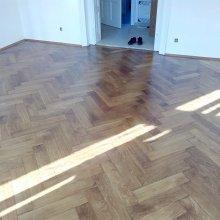 Liberec - renovace staré dobové podlahy