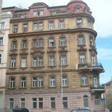 Praha - oprava a nátěr fasády