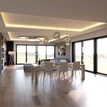 Zdiměřice - návrh interiéru