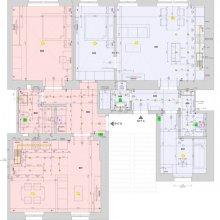 Praha 2 - dispoziční návrh dvou bytů