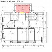 Praha Vinohrady - architektonické řešení vily